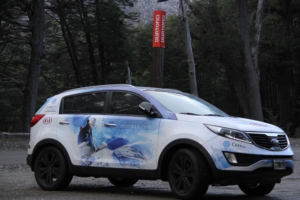 Kia Argentina, Main Sponsor automotriz del Cerro Bayo #WinterIsHere