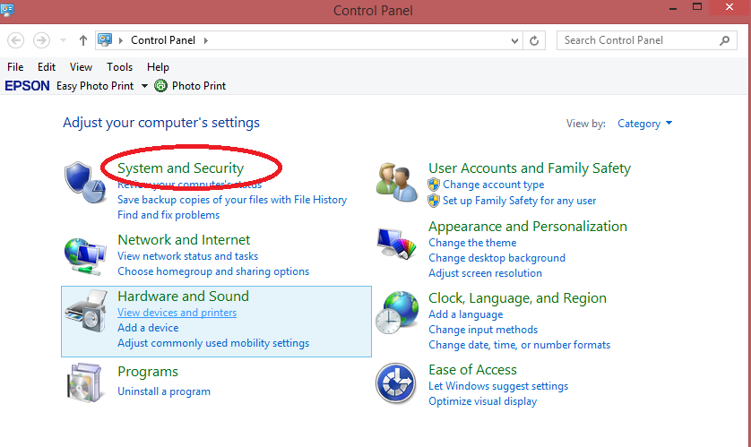 selanjutnya klik Turn automatic updating on or off