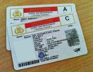 Persyaratan Pembuatan SIM A  Baru