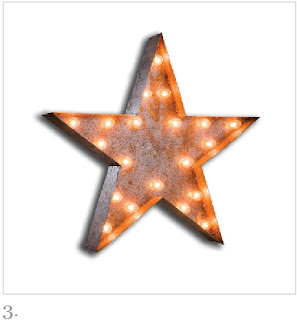 Alphabet Circus Light, star