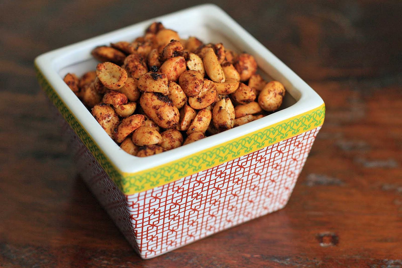 Mexican Chile and Lime Peanuts | Girl Cooks World