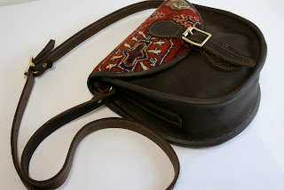 handmade carpet pouch handbag