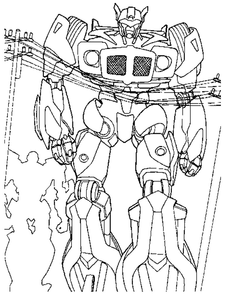 Free Coloring Pages Of Angry Birds With Robot