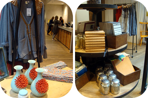 Anthropologie London: shopping