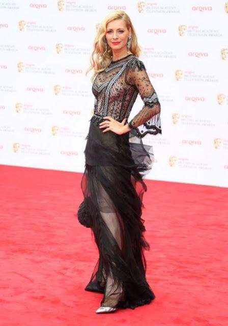Some amazing dress at BAFTA TV 2013