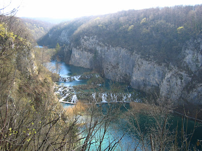 Plitvice lakes canyon