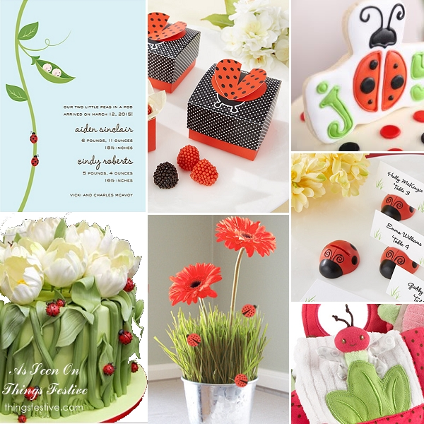 ladybug baby shower theme joyful things festive weddings events