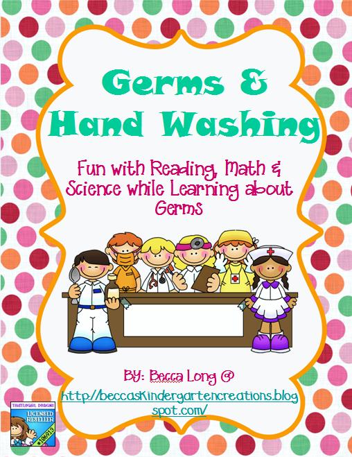 Germ lesson for kindergarten