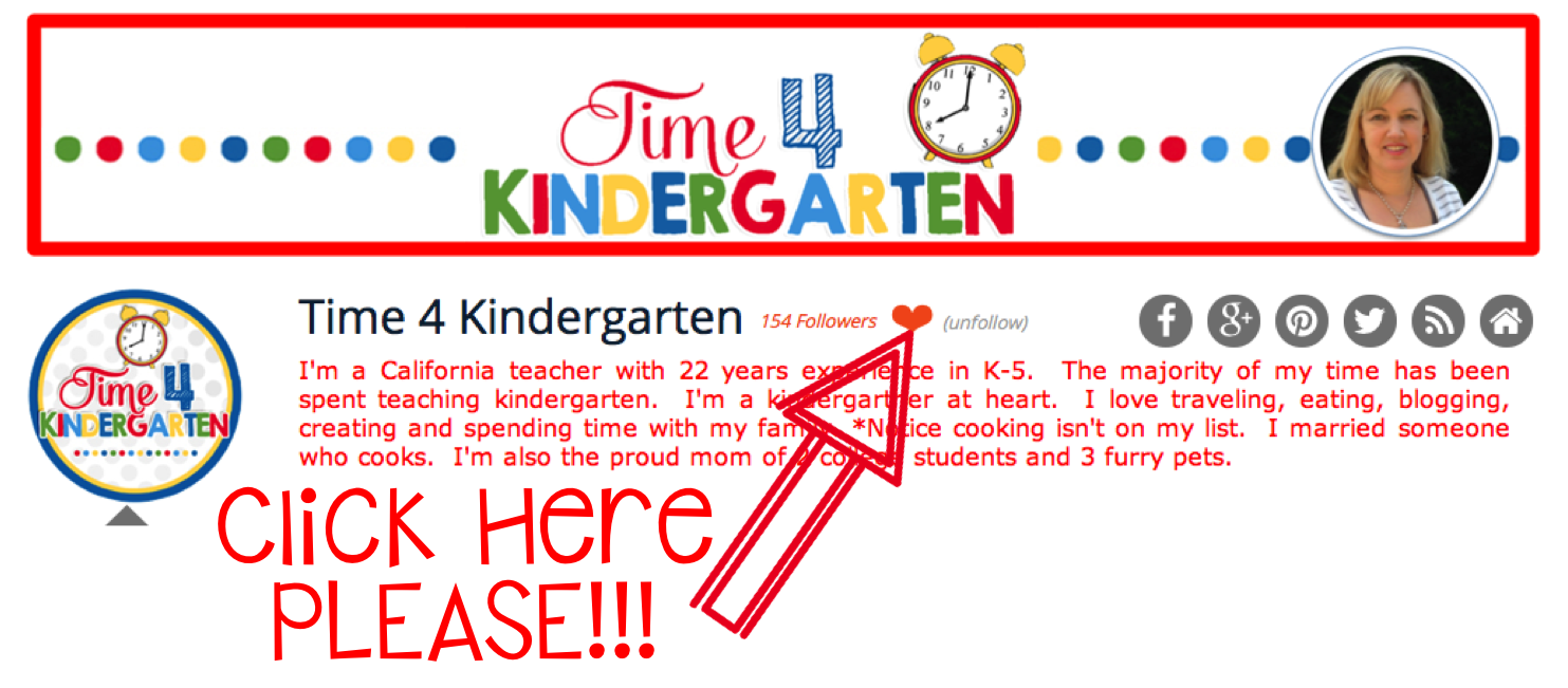 Educents, Time 4 Kindergarten, Freebies