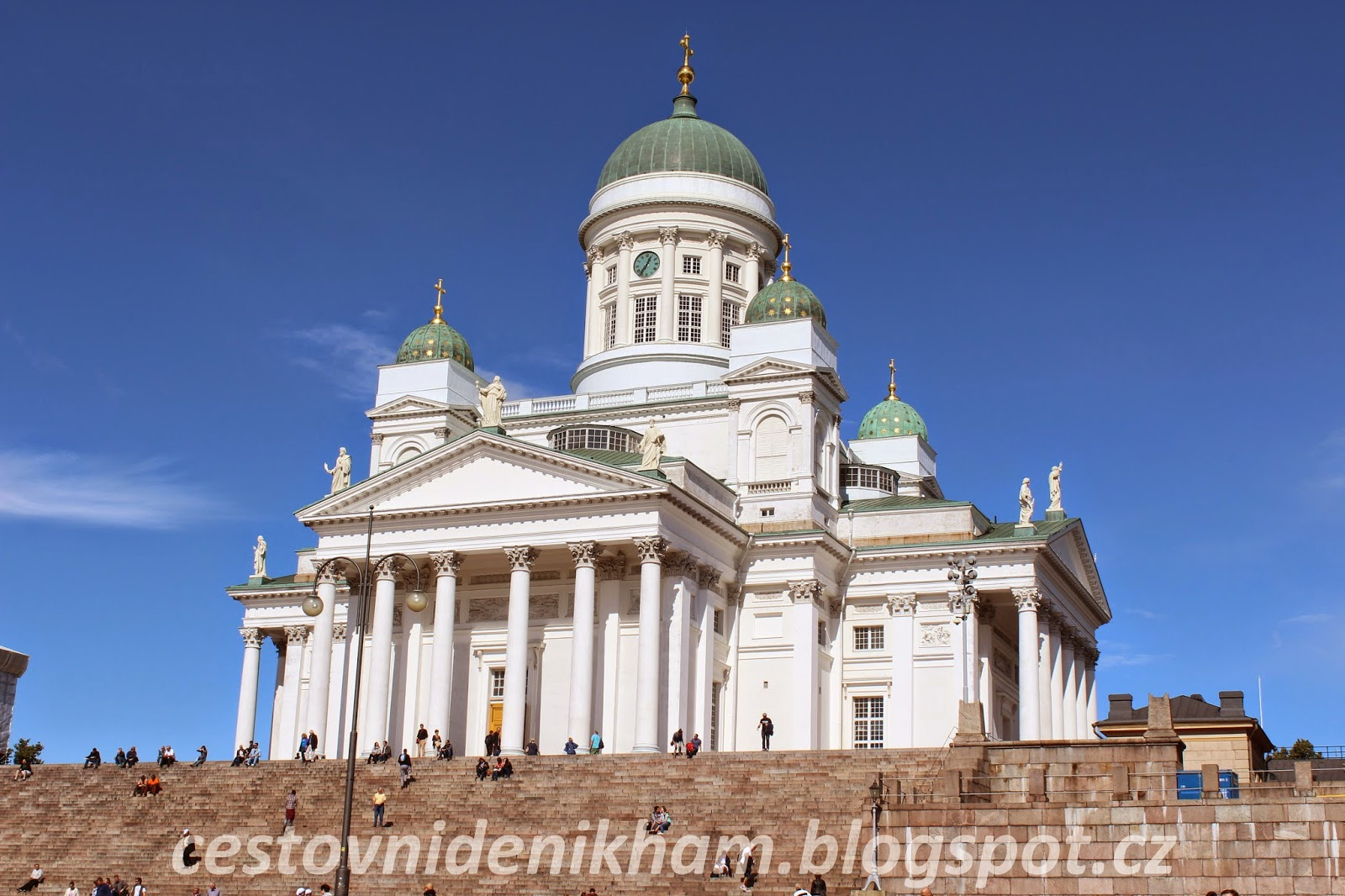 The Helsinki Cathedral and the Senate Square