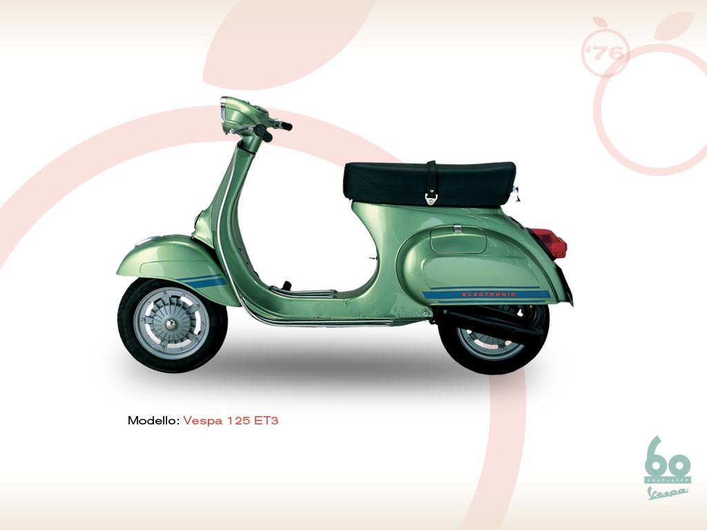 vespa et3 primavera 1976 vespa scooters. Black Bedroom Furniture Sets. Home Design Ideas