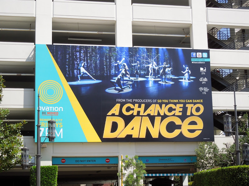 A Chance to Dance billboard