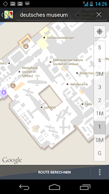 Google Indoor Maps - jetzt auch fr das Deutsche Museum in Mnchen