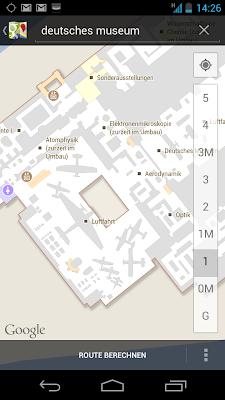 Google Indoor Maps - jetzt auch für das Deutsche Museum in München