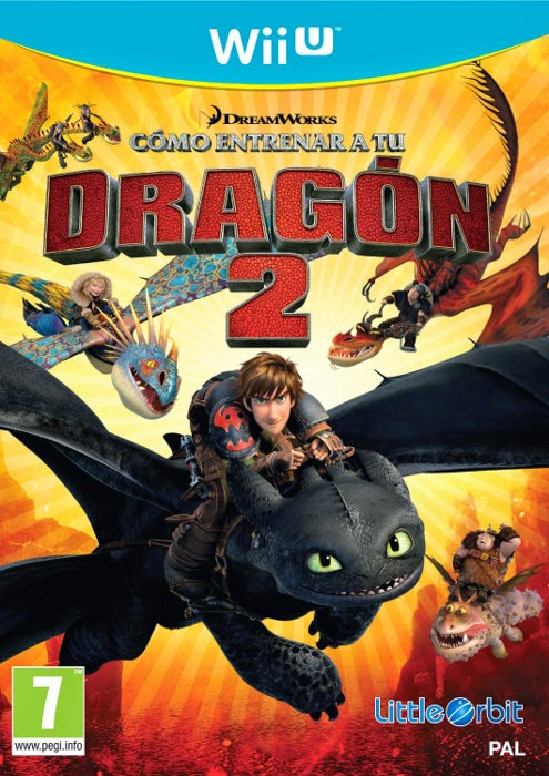 VIDEOJUEGOS - Cómo Entrenar A Tu Dragón 2 Nintendo 3DS - Wii - Wii U