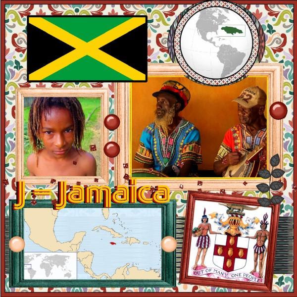 Oct. 2016 - J = Jamaica - 1