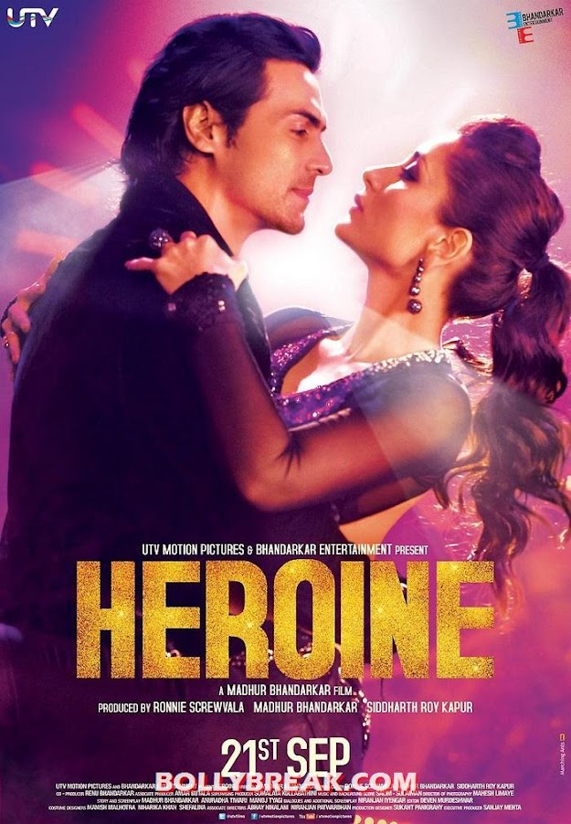Heroine movie new poster - Heroine -Kareena kapoor new poster