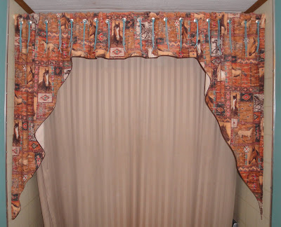 Great Shower Curtains With Valance Curtains Design