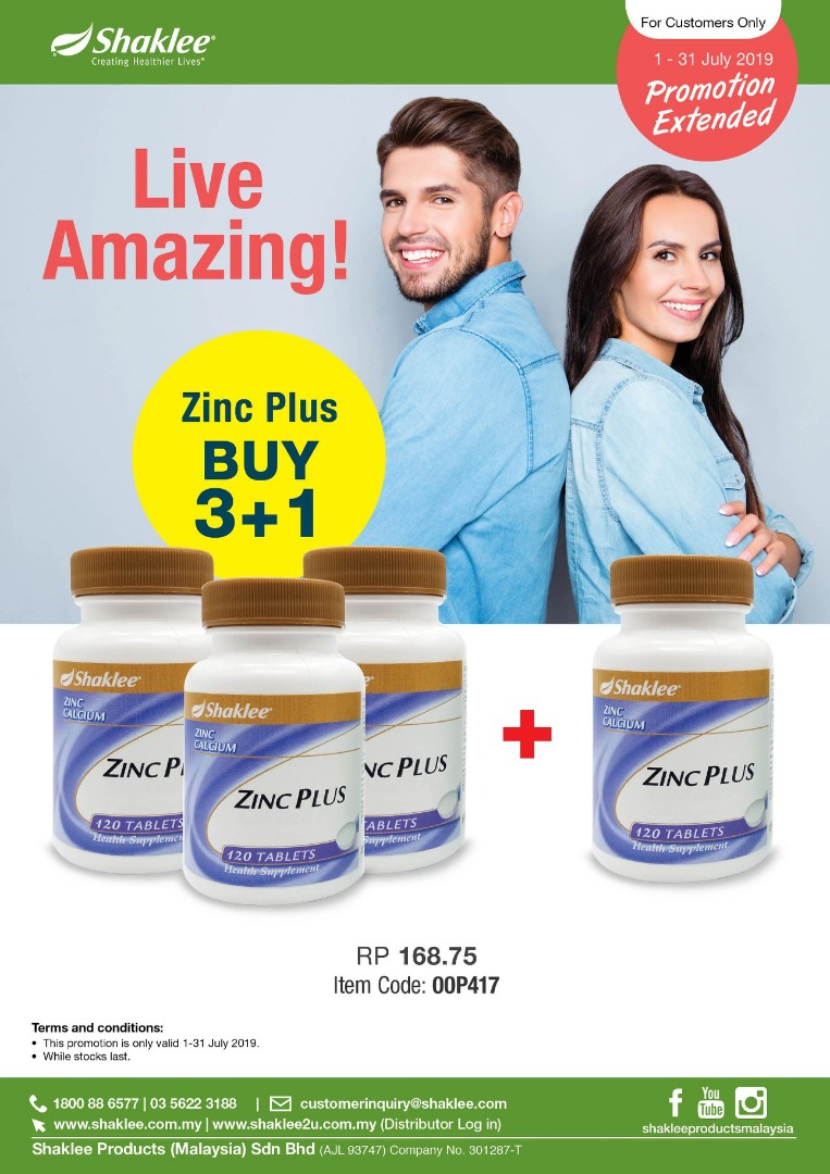 Promosi Zinc Plus