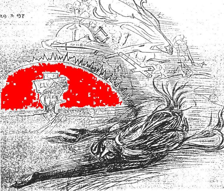 Graficzna demaskacja Kopernika w pismie St. Wyspianskiego
