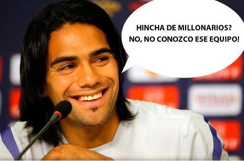 """Falcao opina sobre la goleada de Real Madrid a Millonarios""""..."""