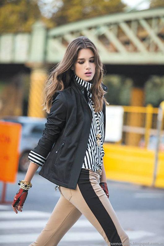 Sacos, camperas de moda  Falabella invierno 2013.