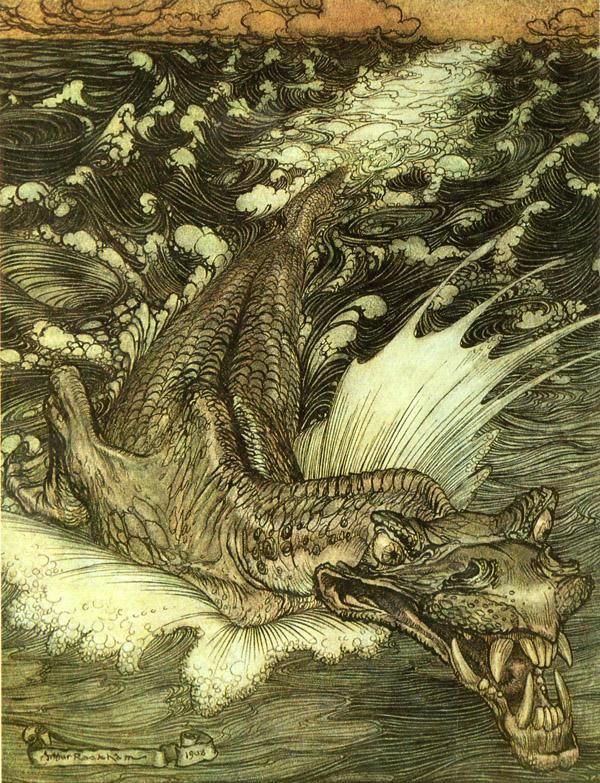 arthur rackham leviathan