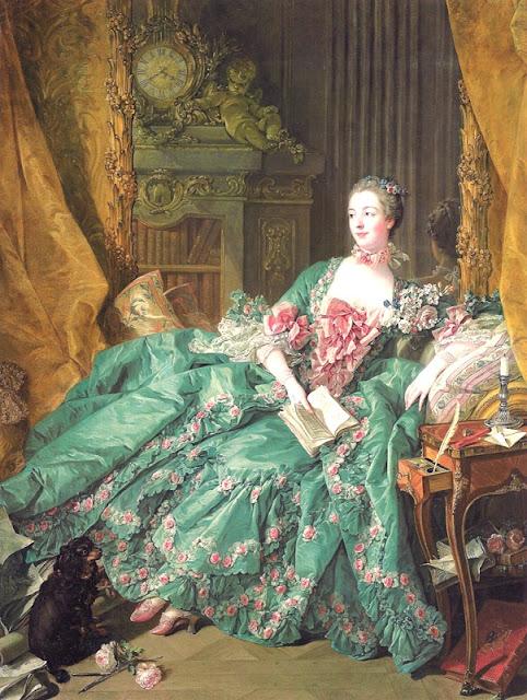 Portrait de Madame de Pompadour, Bouchez