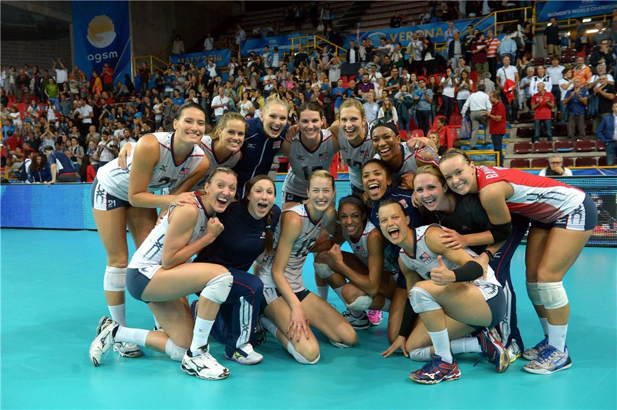 american womens volleyball team