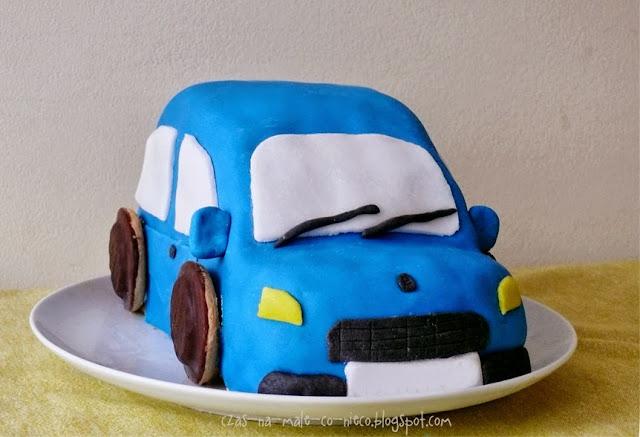 jak zrobić tort samochód