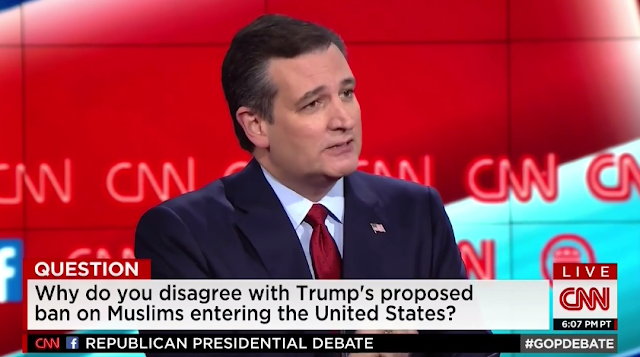 Ted Cruz radical Islamic terrorism debate