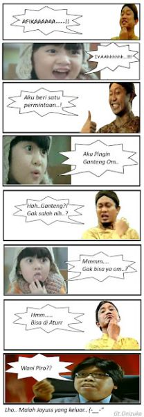 Komik Afika VS Jin jarum 76