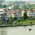Bán biệt thự thô Nam Phú, đơn lập, 16x24m, 3 lầu ven sông bảo vệ ngày đêm