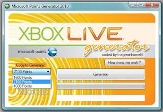 1 Year Xbox Live Gold Membership Generator