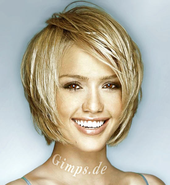 celebrity hair style: Short Hair Styles for Thick Hair