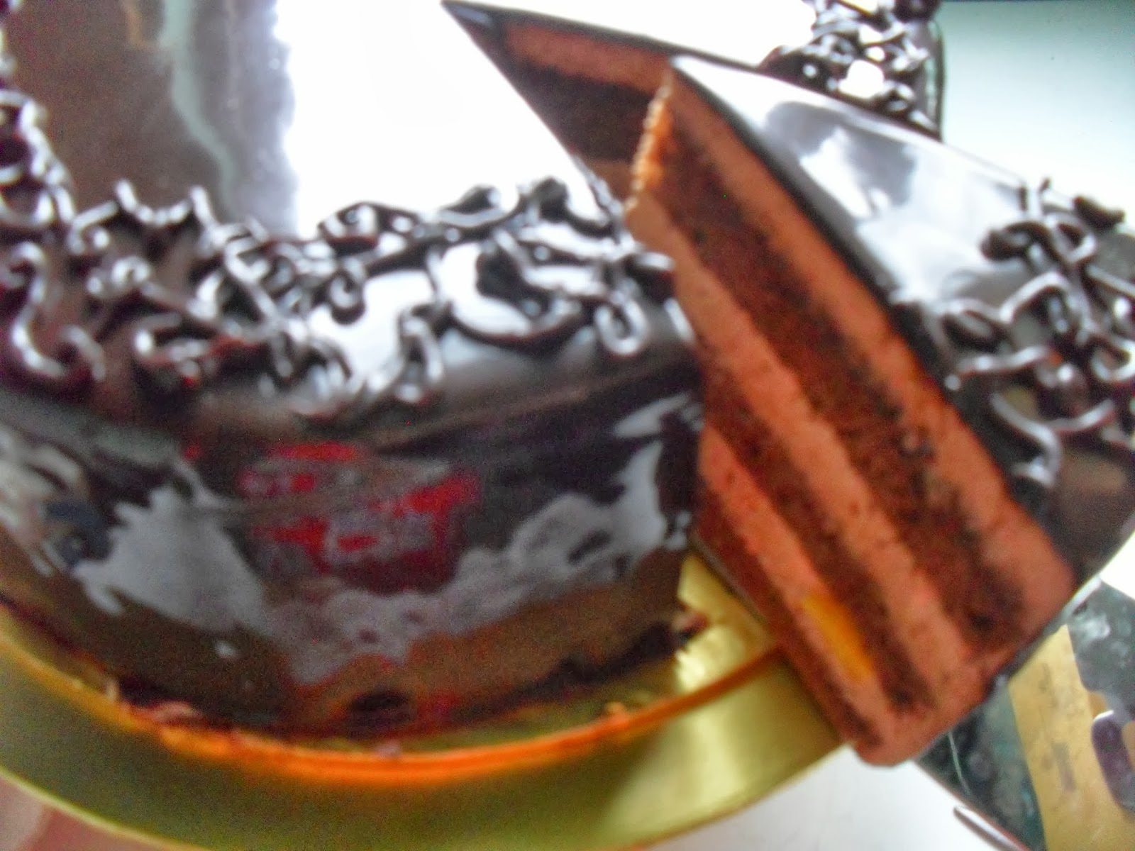 Peach Chocolate Mousse Cake Dunia Masakan Ku