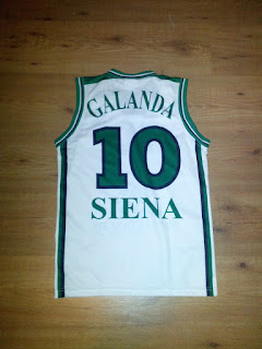 Galanda Siena Jersey Back