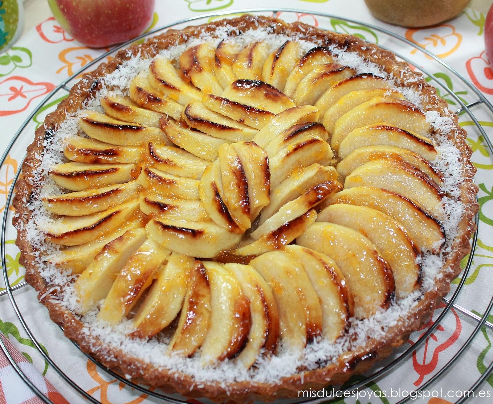 Tarta de manzana francesa mis dulces joyas for Comida francesa tipica