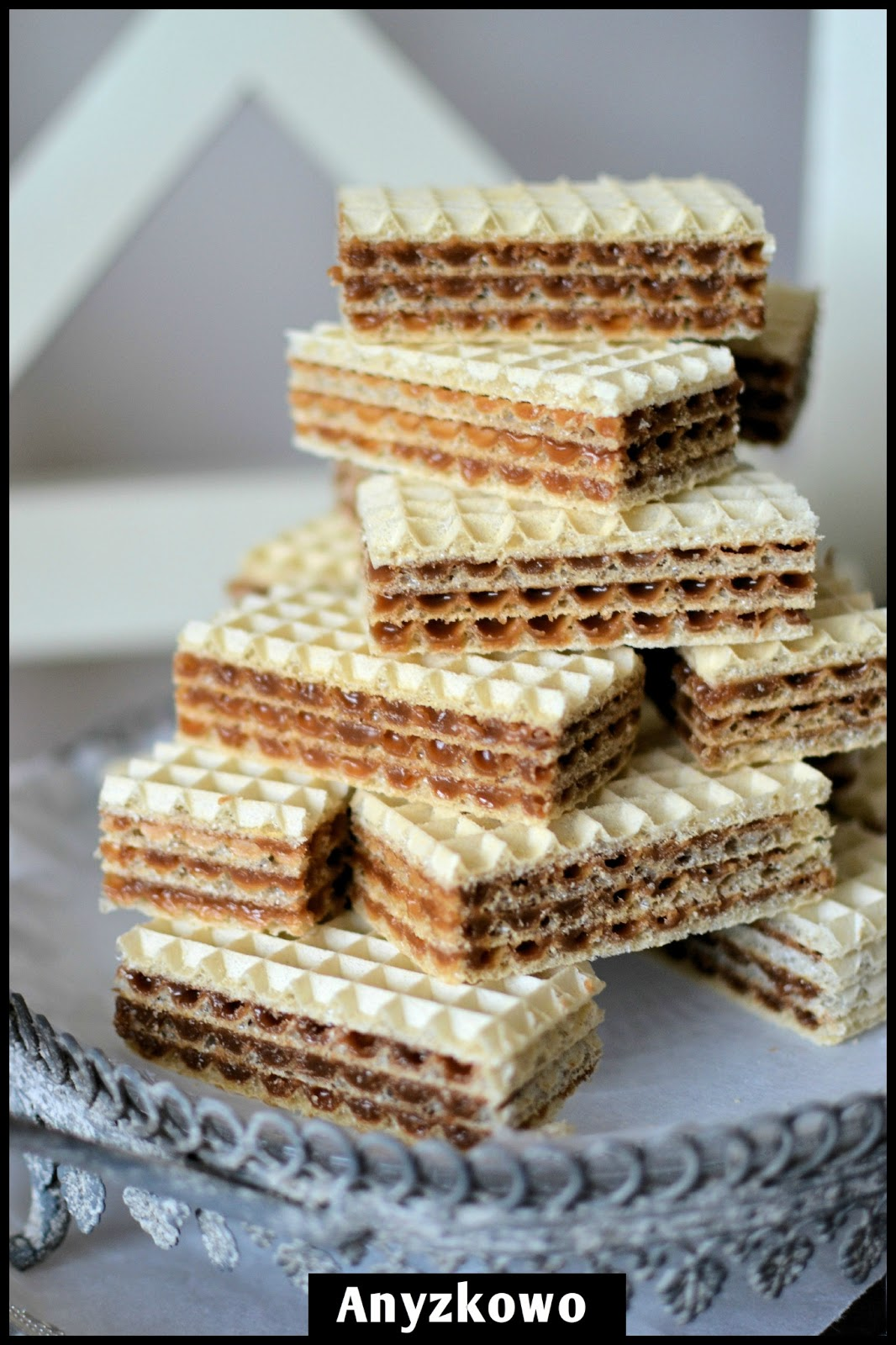 Waffle Wafer Cookies wafer cookies recipe