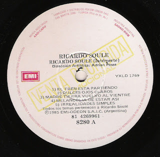 Ricardo Soulé: Idem (1985)
