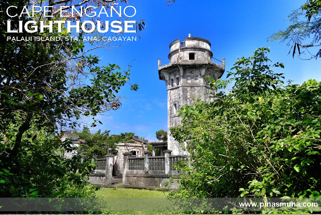 Cape Engaño Lighthouse on Palaui Island