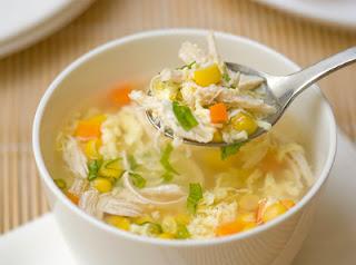 Cách chế biến súp gà ngon