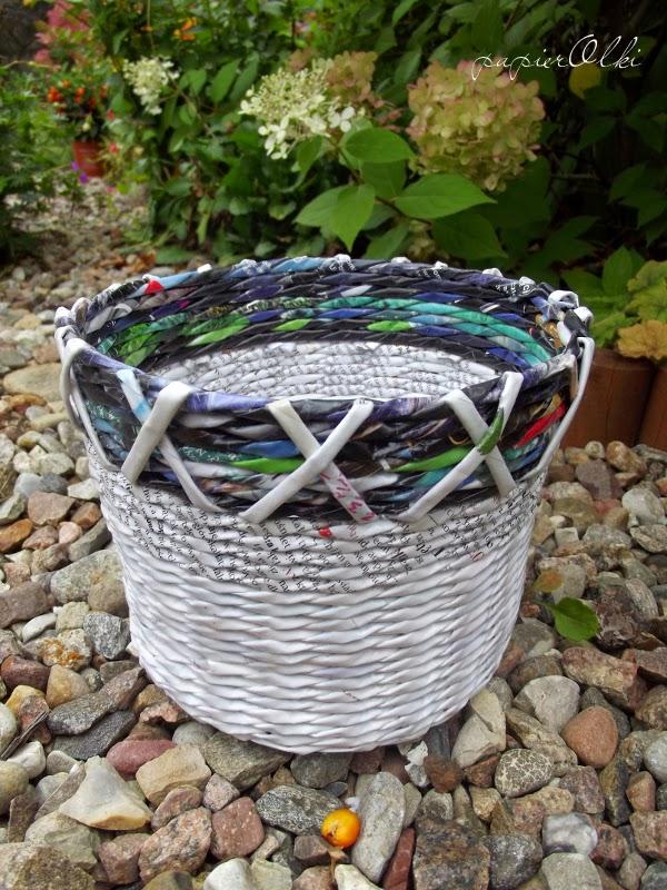Koszyk dla mamy i bluesowa jesień.