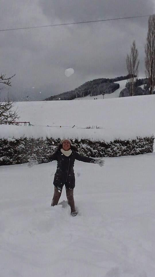 Inverno na Suíça.