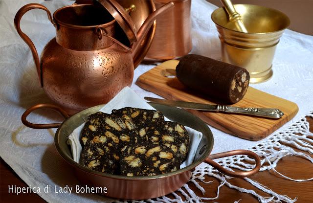 hiperica_lady_boheme_blog_di_cucina_ricette_gustose_facili_veloci_dolci_biscotti_salame_di_cioccolato