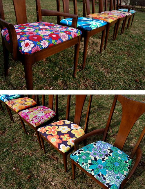 100percentdelicate: upcycled chairs