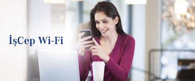 İş Bankası'ndan ücretsiz WiFi kampanyası