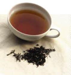 teh hitam, Teh, kaffein