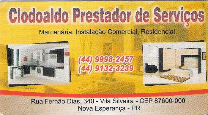 Clodoaldo Prestador de Serviços