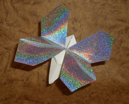 How To Origami Butterfly. origami Butterfly Robinson 1